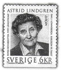 шведская марка Астрид Линдгрен