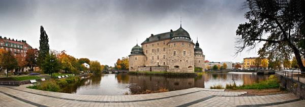 Эребру. Швеция. Замок 13 века