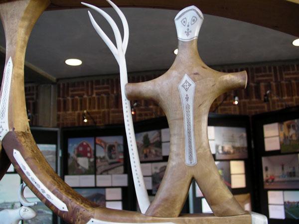 Кируна. Лапландское искусство