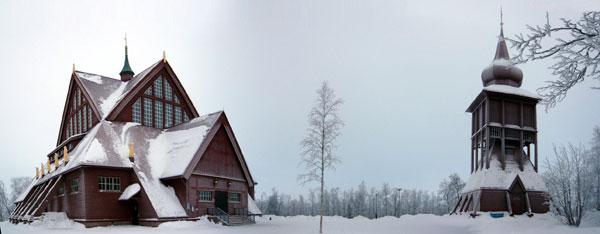 Кируна. Церковь