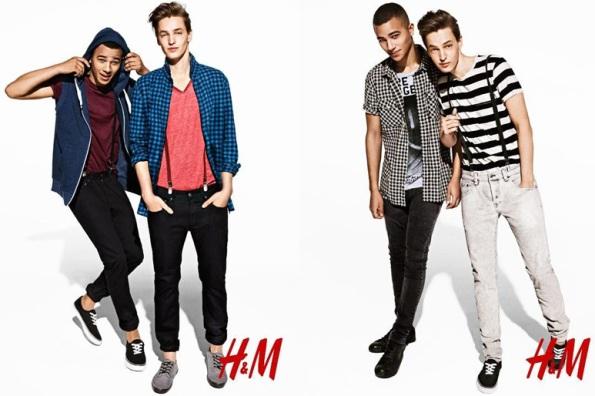 H&M мужская одежда из Швеции