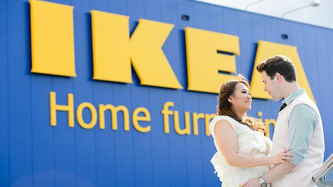 Свадьба в австралийской IKEA