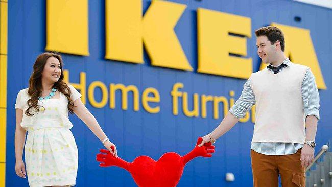 свадьба в IKEA