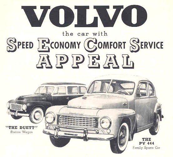 Старая реклама Вольво