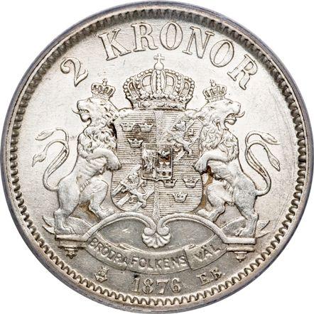 шведская крона монета