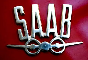 старый логотип SAAB