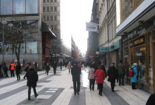 Стокгольмский шоппинг