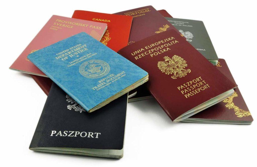 европейские паспорта