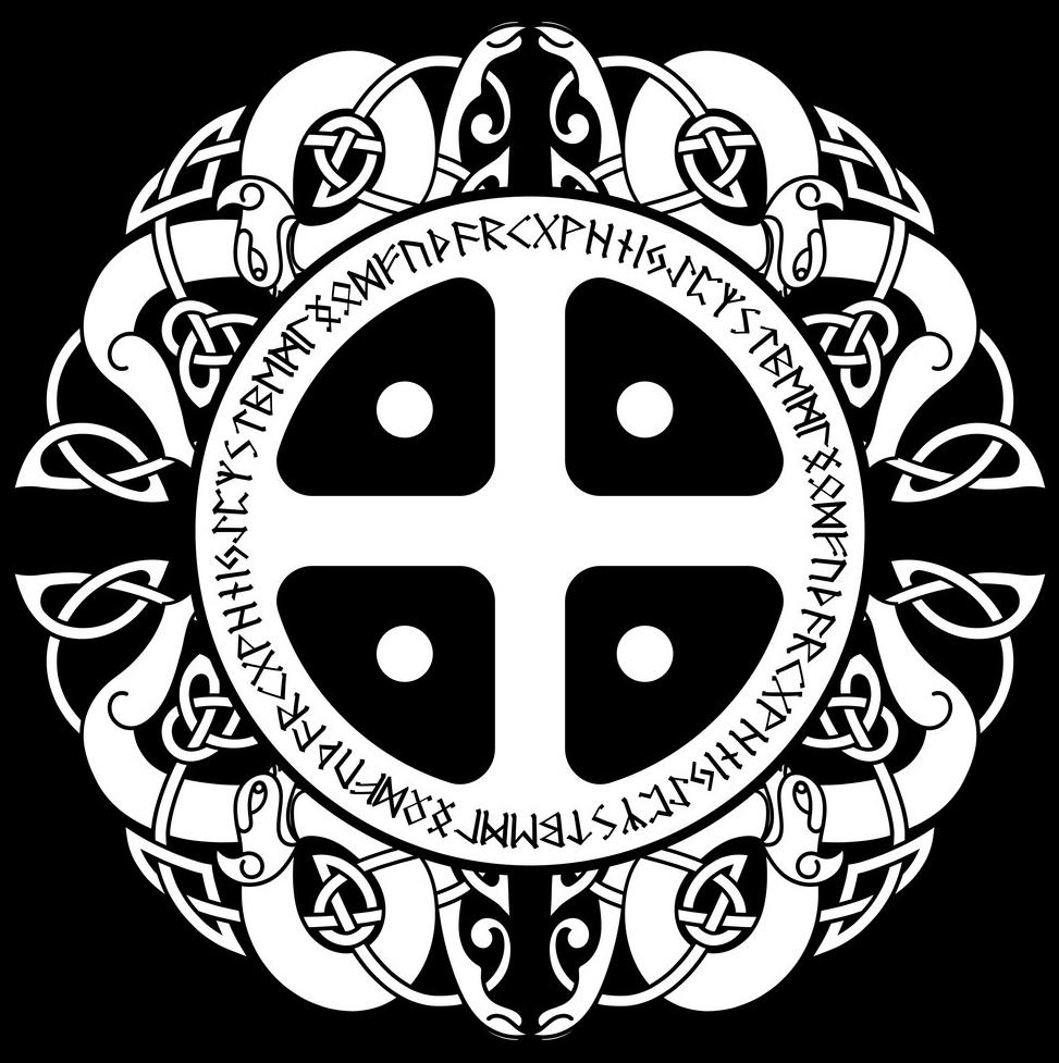 скандинавские татуировки эскизы