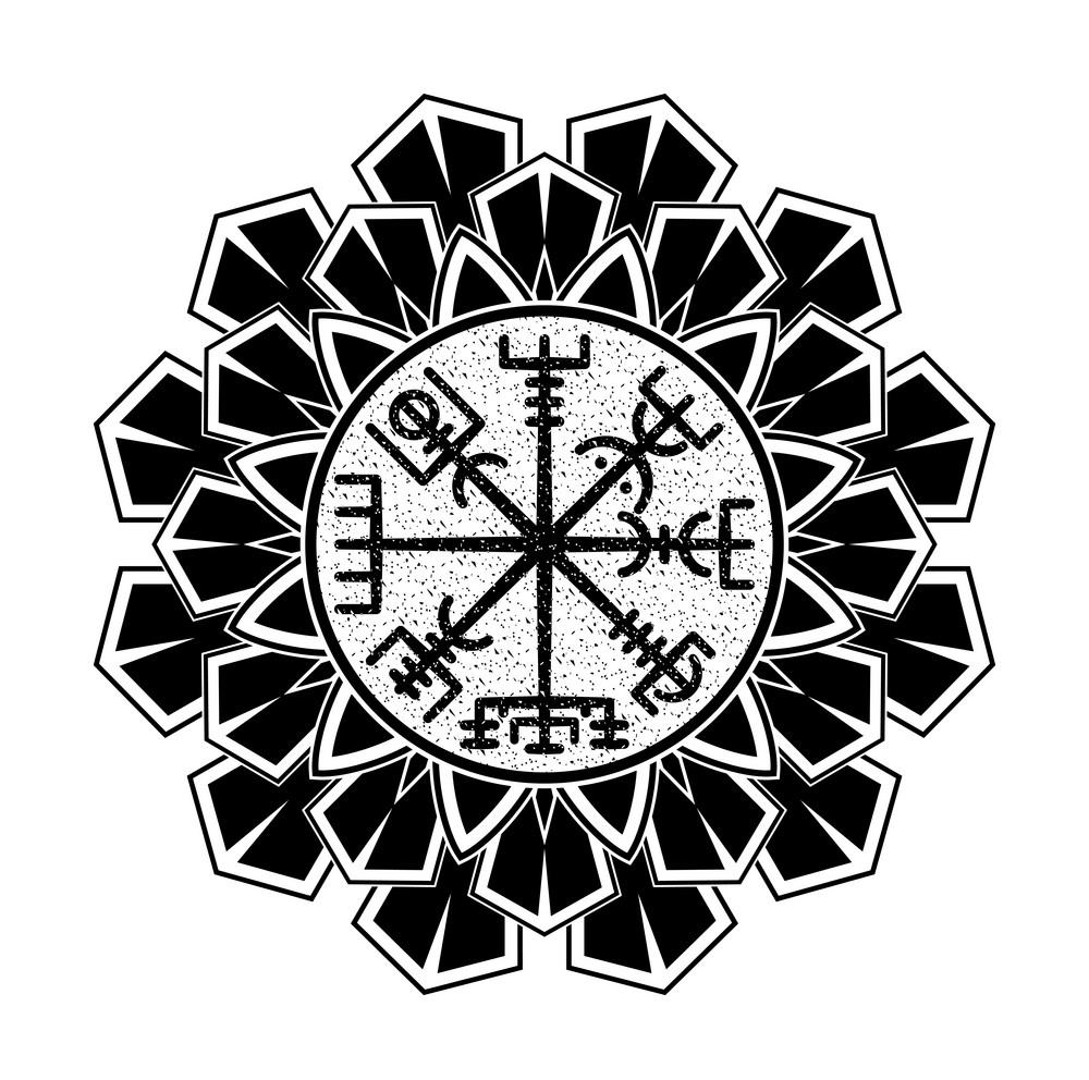 скандинавские тату эскиз кольцо